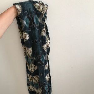 Wool Patterned Unisex Scarf